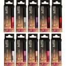 Cosmetic lip gloss 10 colors assorted in box