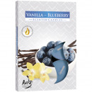 wholesale Home & Living: Tealight scent 6er vanilla blueberry