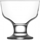 wholesale Drinking Glasses: Glass ice cream bowl 185ml, DM: 9,5cm, H: 9,5cm