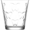 wholesale Drinking Glasses: Glass of water glass 255ml, butterfly