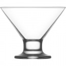 wholesale Drinking Glasses: Glass ice cream bowl 165ml, DM: 10cm, H: 8,5cm