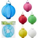 LED lantern paper about 20cm round shape