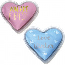 Pocket warmer heart in Display 2 colors assorted