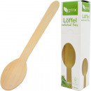 Party cutlery spoon wooden 20cm 16cm