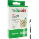 Wundverband Medi+Swiss Pflaster Kids 33er