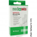 Opatrunek na rany Medi + Swiss Strips Sensitive 36