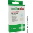 Opatrunek na rany Medi + Swiss Strips Aqua 8er 7,6