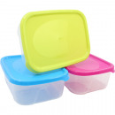wholesale Kitchen Utensils: Food storage box 1L, colors assorted ...