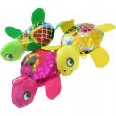 Plush toy turtle glitter 20cm, 3-fold assortment
