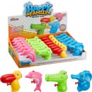 Water gun animals 4f assorted about 9cm