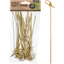 wholesale Cutlery: Party skewers bamboo 30pcs each about 15cm long