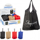 wholesale Bags & Travel accessories: Shopping bag foldable Shopping 33x34cm