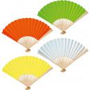 wholesale Toys: Fan paper Uni 25cm, 4- times assorted