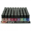 Nail polish Sabrina trend colors 12ml, 72 pack
