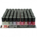 Nail polish Sabrina seasonal colors 12ml, 72 pack