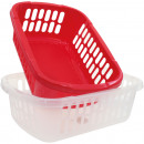 wholesale Organisers & Storage: Basket 34x24x11cm 2col assorted for product presen