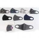 Mask unisex mouth / nose protection 7-fold assorte
