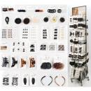 grossiste Drogerie & cosmétiques: Assortiment de mode capillaire 480 pièces en métal