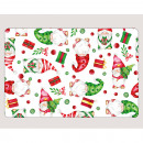 Placemat with pixie motif, 43x28cm made of PP