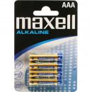 Batterie Maxell LR03 Alkaline 4er Blister