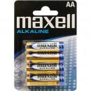 Batterie Maxell LR6 Alkaline 4er Blister