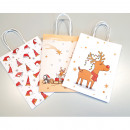 hurtownia Upominki & Artykuly papiernicze: Torba na prezent 'Children' Craft biała 15