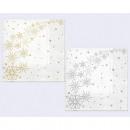Napkins 'Snowflakes' 20, 3-ply 33x33cm