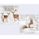 wholesale Household Goods: Napkins 'Forest Animals' 20s, ...