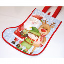Christmas bag made of solid PP material 28x22cm