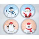 Pocket warmer 'winter motifs' in a round s