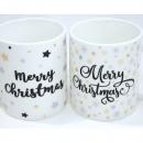 Coffee mug 'Merry Christmas' 300ml 9.5x8cm