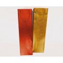 Gift bag 'Hologram stars' 35x10cm bottle