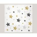 20-as szalvéta, 3 rétegű 33x33cm 'csillag mode