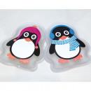 Taschenwärmer Pinguin in PVC-Box 2 fach sortiert,