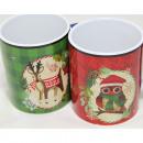 wholesale Toys: Coffee mug 'moose and owl' ...