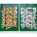 Grinding készlet 10 fémes, 4 szín szortírozott kis