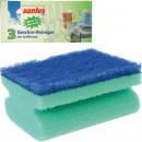 Sponge Crockery Cleaner 3er with handlebar 9,5