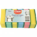wholesale Household & Kitchen: Sponge CLEAN for the kitchen 6x 85x55x30mm