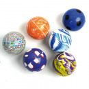 Springball 4,3cm colorful 8 times assorted