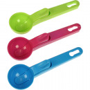 wholesale Kitchen Gadgets: Ice cream scoopers 18 x 5,5cm colored assorted
