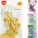 Air freshener CLEAN Gecko 10x6x1,5cm with suction