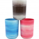 wholesale Bath Furniture & Accessories: Toothpins Marble optic 9x6,5cm pastel colors