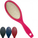 Hairbrush massage with nubs 21cm colored assorted