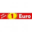 mayorista Mobiliario y accesorios oficina y comercio:29x5,5cm pegatinas 1Euro