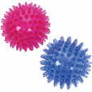Massageball hedgehog 7cm 2 colors assorted