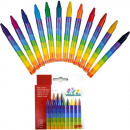 wholesale Gifts & Stationery: Crayons 12er 8,9cm x 8mm for d. school