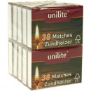 Matches 10 packs each approx. 38 pieces