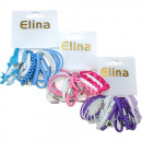 Haargummi Elina Set of 20 4 different strengths +