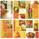 nagyker Üdvözlőkártyák: Húsvéti boríték kártyák 12- szer szortírozott kisz