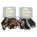 Haargummi Elina 24er different strengths brown + s